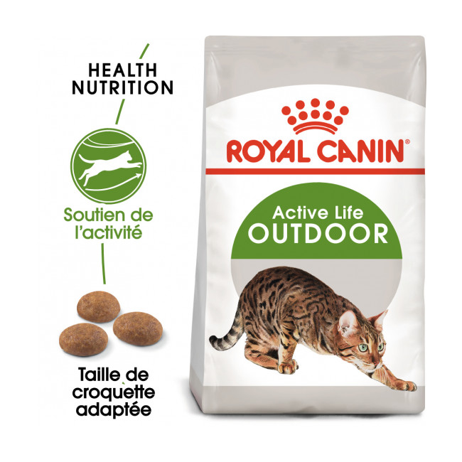 Croquettes pour chat d'extérieur Royal Canin 30