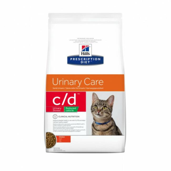 Croquettes pour chat Hill's Prescription Diet Feline C/D Urinary Care Reduced Calorie