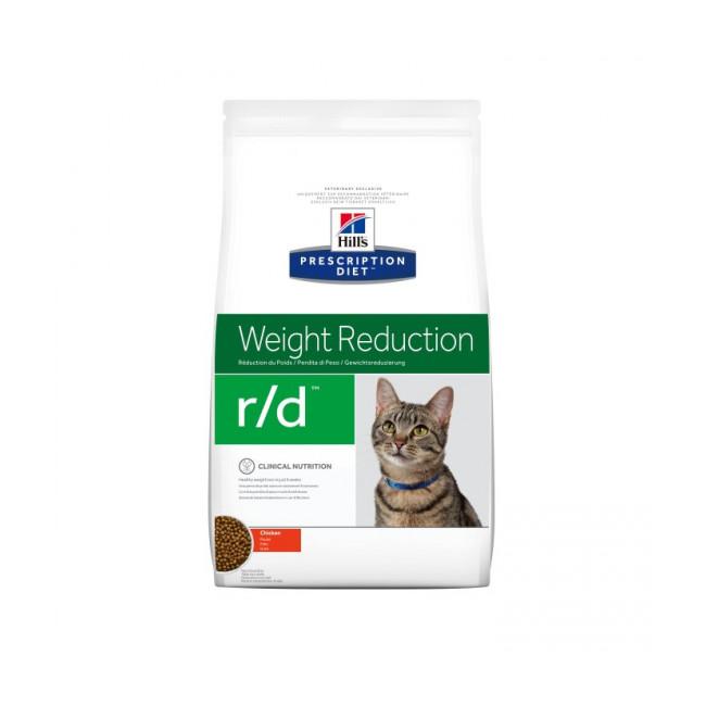Croquettes pour chat Hill's Prescription Diet Feline Weight Reduction R/D