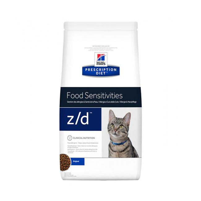 Croquettes pour chat Hill's Prescription Diet Z/D Sac 2 kg