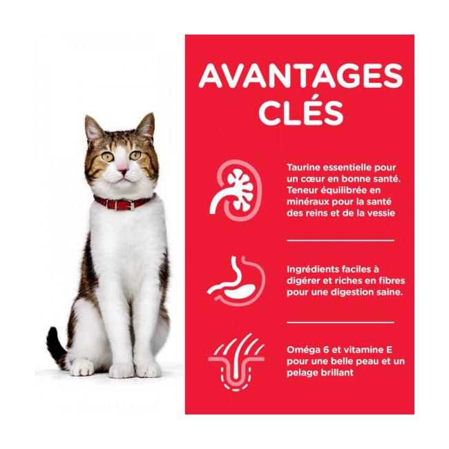 Croquettes pour chat mature actif Hill's Science Plan Longevity