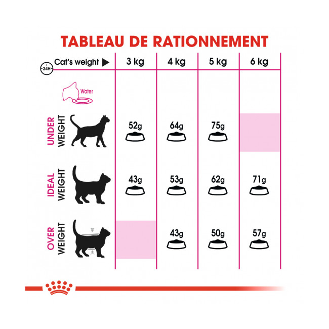 Croquettes pour chat exigent Royal Canin Protein 42