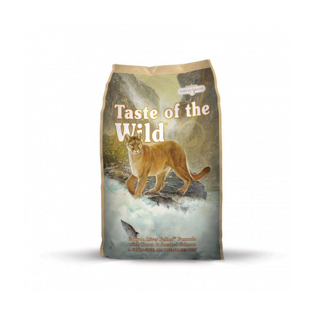 Croquettes pour chat Taste of the Wild Canyon River Feline