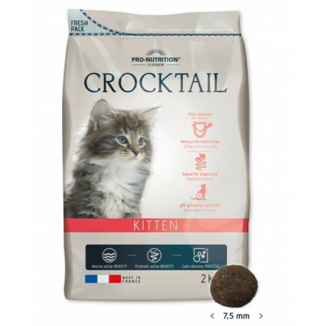 Croquettes pour chaton Crocktail Kitten Flatazor Pro Nutrition
