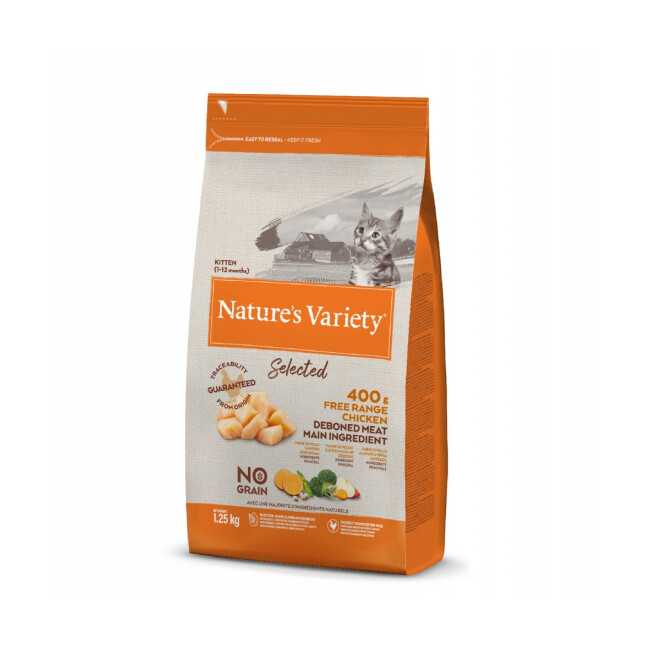 Croquettes pour chaton Nature's Variety No Grain True Instinct Kitten