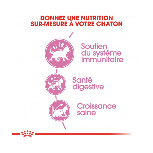 Croquettes pour chatons Royal Canin Kitten
