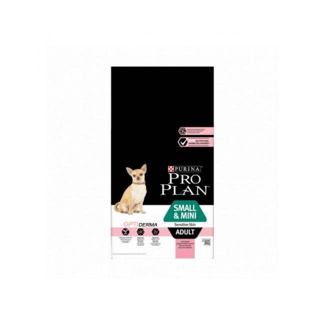 Croquettes pour chien adulte de petite et très petite race Sensitive Skin OptiDerma Pro Plan