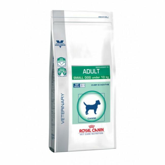 Croquettes pour chien adulte de petite race Veterinary Care Dental et Digest Royal Canin