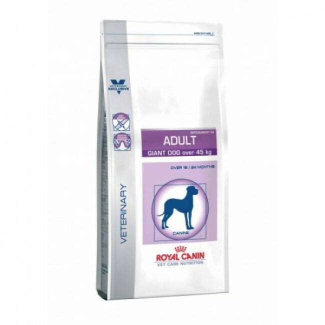 Croquettes pour chien adulte de très grande race Veterinary Care Royal Canin Sac 14 kg