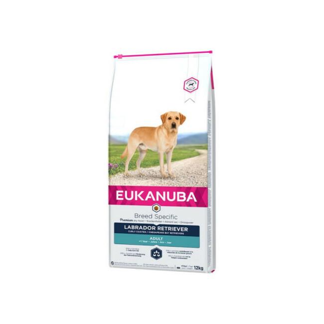 Croquettes pour chien adulte Eukanuba Labrador Sac 12 kg