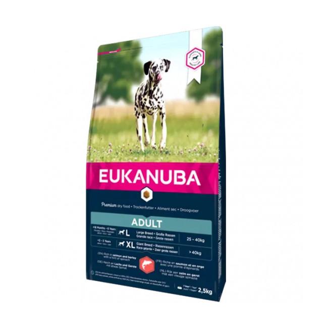 Croquettes pour chien adulte Eukanuba saumon