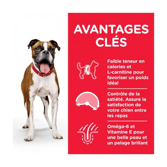 Croquettes pour chien adulte Hill's Science Plan Light Poulet