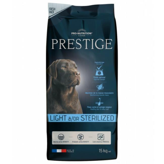 Croquettes pour chien adulte light / sterilized Prestige Flatazor Pro-Nutrition