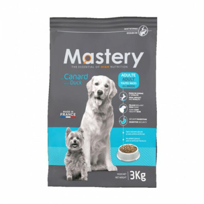Croquettes pour chien adulte Mastery saveur canard