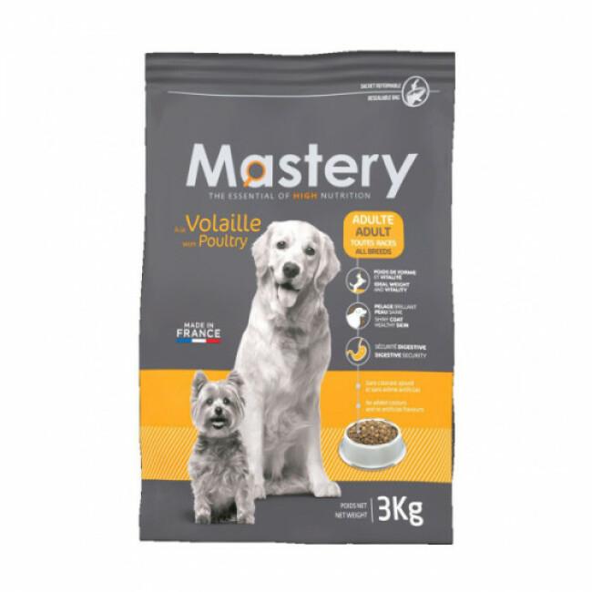 Croquettes pour chien adulte Mastery saveur volaille