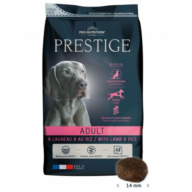 Croquettes pour chien adulte Prestige Flatazor Pro Nutrition agneau et riz