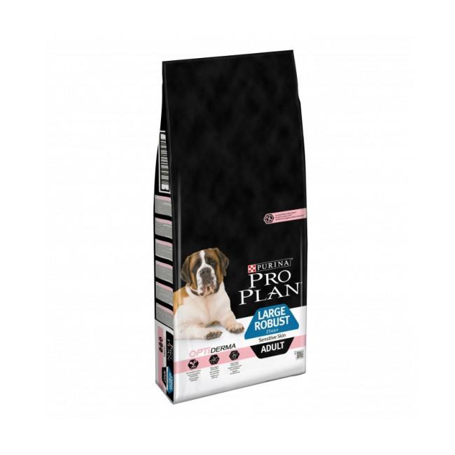 Croquettes pour chien adulte Pro Plan Large Robust Sensitive Skin sac 14 kg