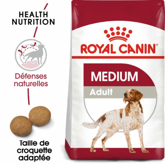 Croquettes pour chien adulte race moyenne Royal Canin Medium Adult