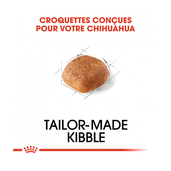 Croquettes pour chien adulte Royal Canin Chihuahua Sac 3 kg