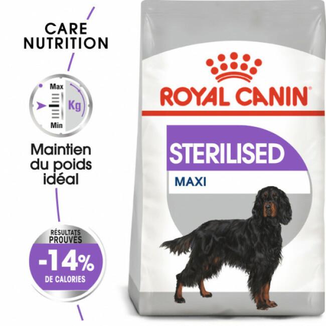 Croquettes pour chien adulte grande race stérilisé Royal Canin Sac 12 kg