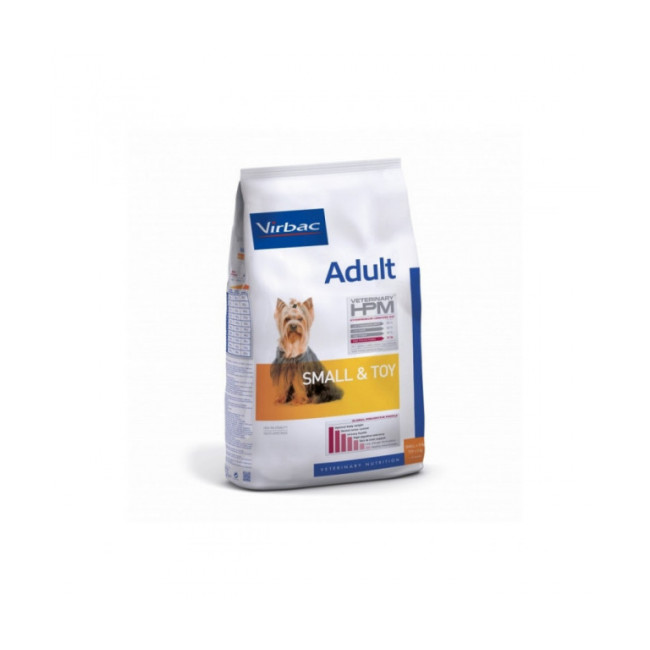 Croquettes pour chien adulte Small & Toy HPM Virbac