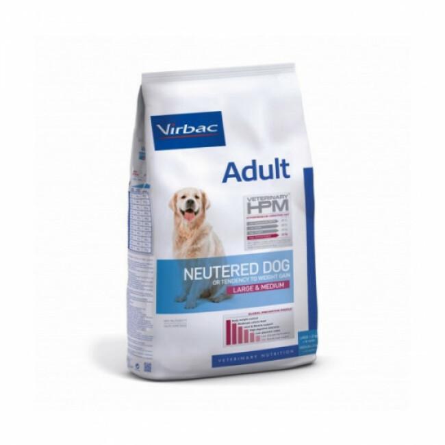 Croquettes pour chien adulte stérilisé grand et moyen Virbac