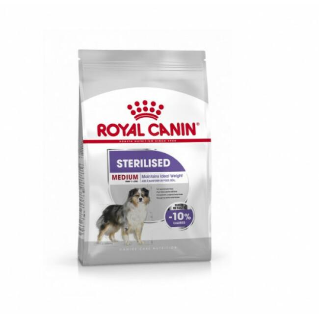 Croquettes pour chien adulte stérilisé de 11 à 25 kg Royal Canin Medium Adulte Sterilised