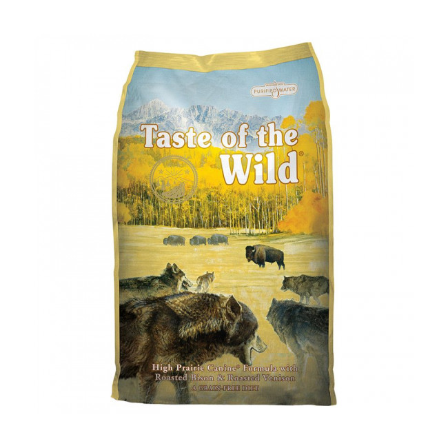 Croquettes pour chien adulte Taste of The Wild High Prairies Sac 13 kg