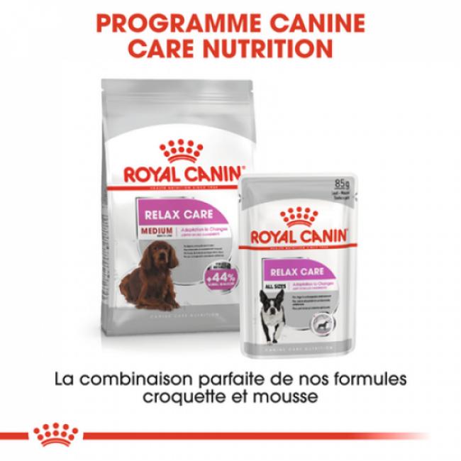 Croquettes pour chien de 11 à 25 kg Royal Canin Medium Relax Care pour chien