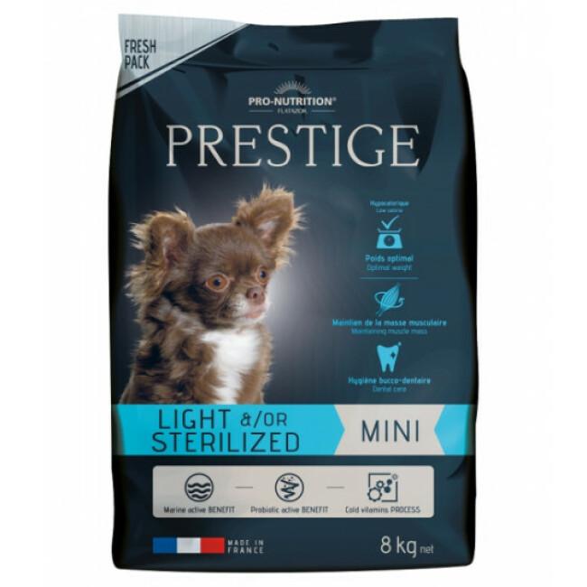 Croquettes pour chien de petite race light / sterilized Prestige Mini Flatazor Pro-Nutrition