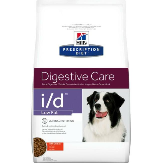Croquettes pour chien Hill's Prescription Diet Canine I/D Low Fat
