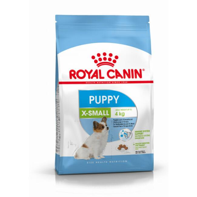 Croquettes pour chiot de très petite race jusqu'à 10 mois Royal Canin Puppy XSmall