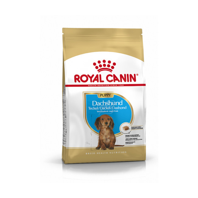 Croquettes pour chien junior Royal Canin Teckel Nutrition Sac 1,5 kg