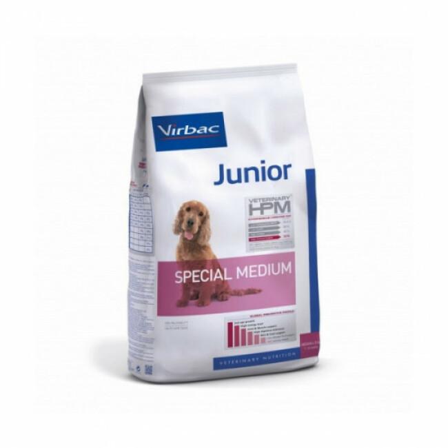 Croquettes pour chien junior spécial race moyenne Virbac HPM