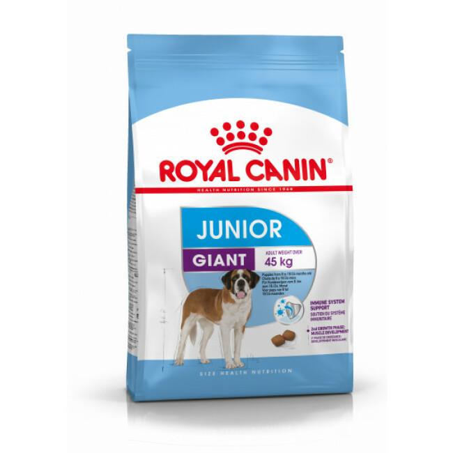 Croquettes pour chien junior très grande race Royal Canin Giant Junior
