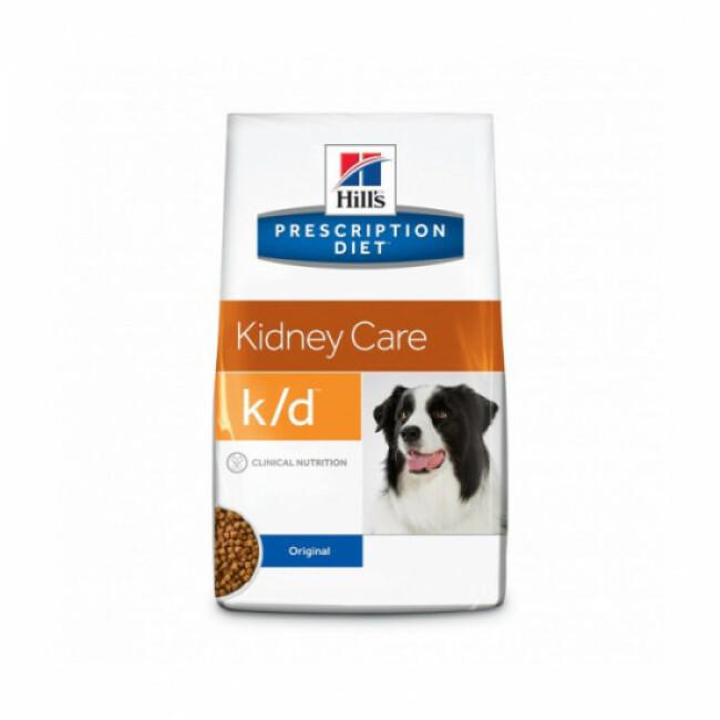 Croquettes pour chien Prescription Diet Canine K/D Hill's