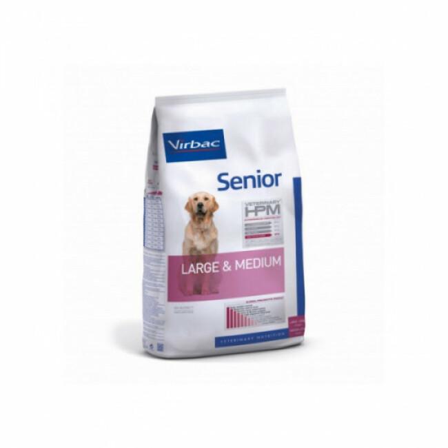 Croquettes pour chien senior Large & Medium Virbac