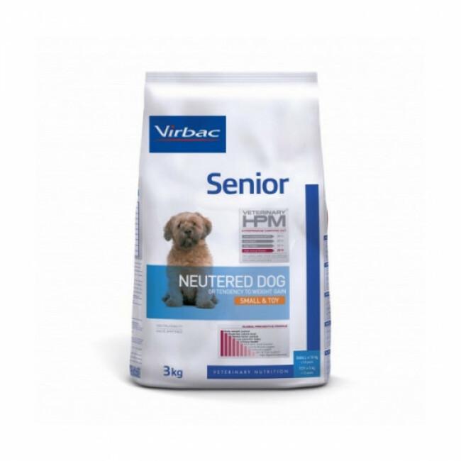 Croquettes pour chien senior stérilisé petite et très petite race Virbac HPM