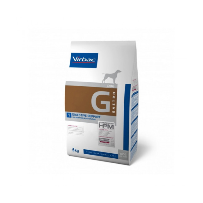 Croquettes pour chien Veterinary HPM Gastro Digestive Support Virbac