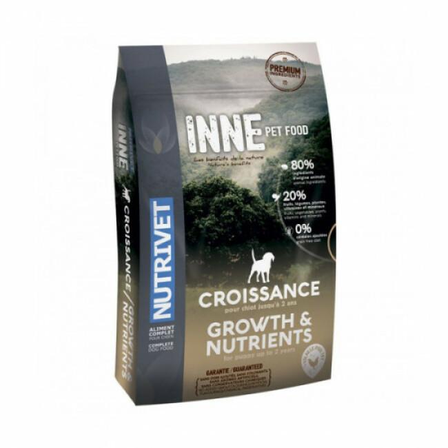 Croquettes pour chiot Nutrivet Inne Dog Growth croissance