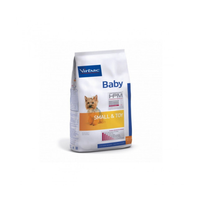 Croquettes pour chiot Small & Toy HPM Virbac