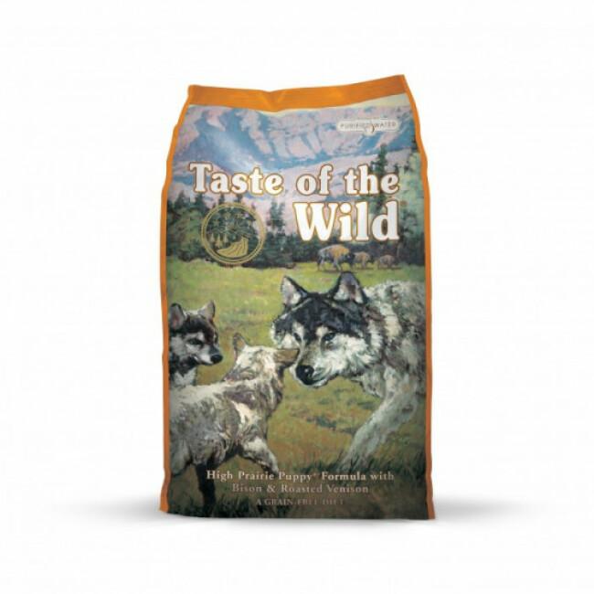 Croquettes pour chiot Taste of the Wild sac 13 kg