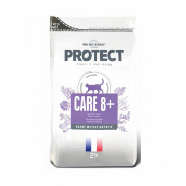 Croquettes Pro-Nutrition Protect Care 8+ soutien rénal et mobilité pour chat âgé