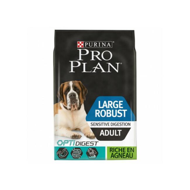Croquettes Pro Plan Large Adult Robust OptiDigest à l'Agneau