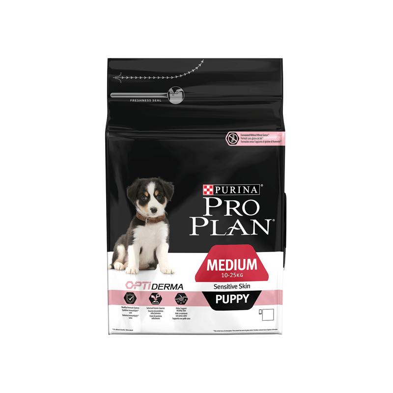 Croquettes Pro Plan Medium Puppy Sensitive Skin OptiDerma