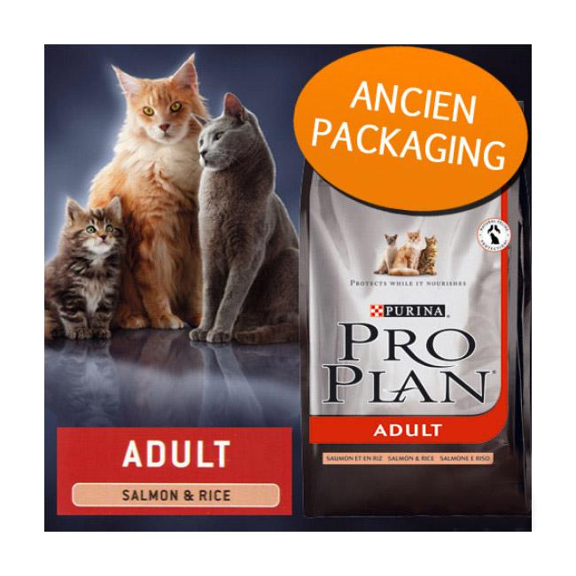 Croquettes Pro Plan pour chat adulte Original Adult au saumon