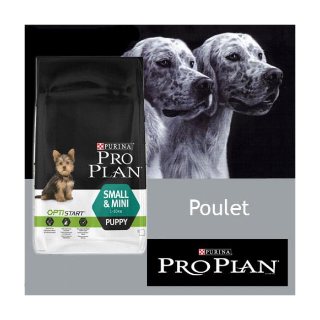 Croquettes Pro Plan pour chiot Puppy Small & Mini au poulet