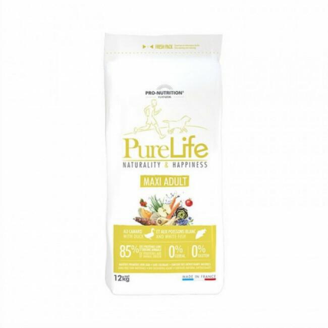 Croquettes Pure Life maxi adult sans céréales Flatazor Pro Nutrition pour chien