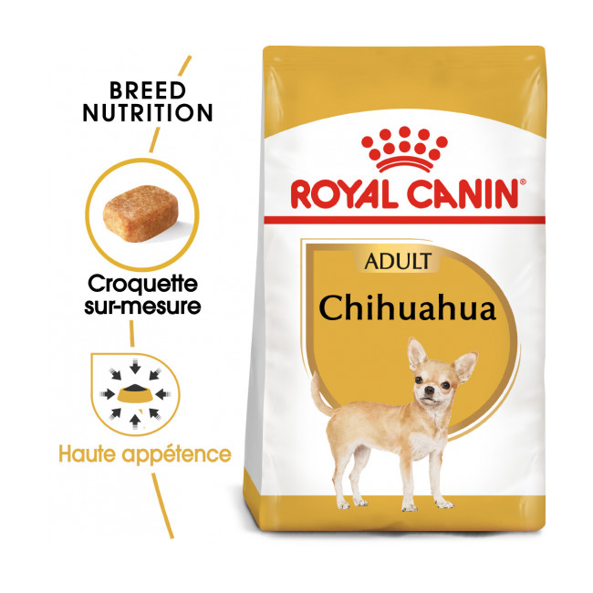Croquettes Royal Canin Chihuahua 28 Adulte Sac 3 kg