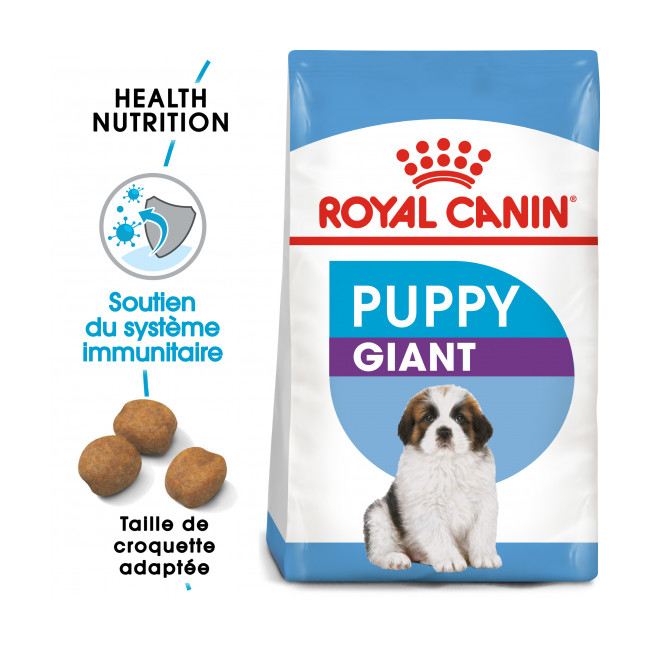 Croquettes Royal Canin Giant Puppy